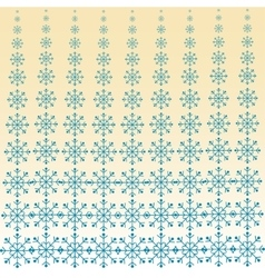 Christmas snowfall blizzard background vector