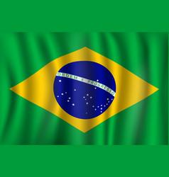Flag of brazil brazilian national symbol vector