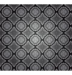 Vintage arabesque pattern vector image vector image