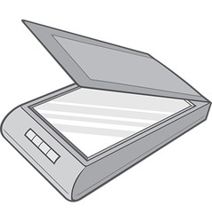 Scanner vector image