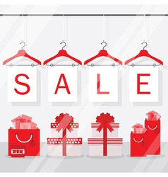 Shopping and retail sale sign vector