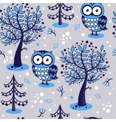 an owl vector image vector image