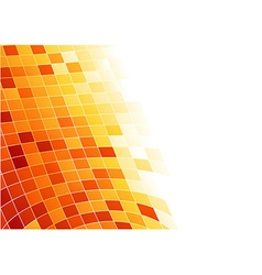 Abstract tile background - cells in 3d vector