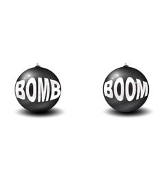 Two bombs vector