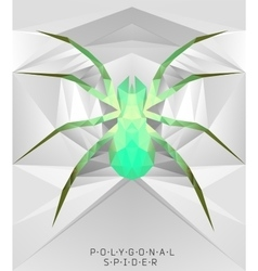 Polygonal modern elements vector
