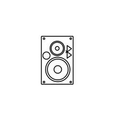 Bluetooth music speaker icon vector