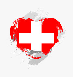 flag of switzerland vector image vector image
