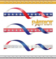 patriot vector image vector image