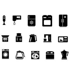 Set of kitchenware vector