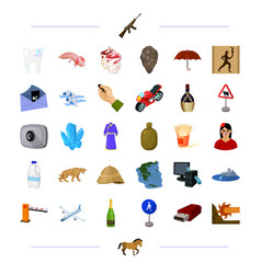 Technology medicine travel and other web icon in vector