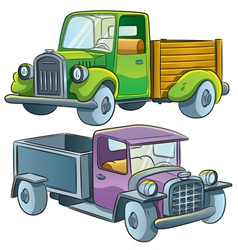 Truck Collection vector image vector image
