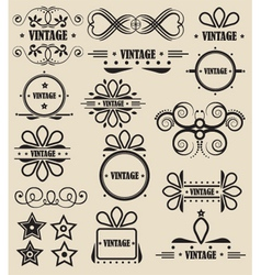Decorative Icons vector image