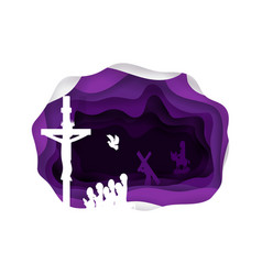 lent vector image