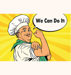 Cook gesture we can do it vector