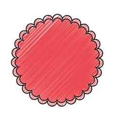 Blank stamp symbol vector