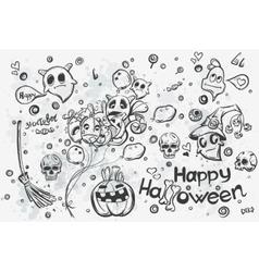 Halloween doodles - vector image vector image