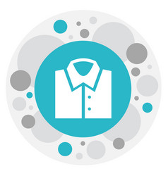 Of business symbol on shirt vector