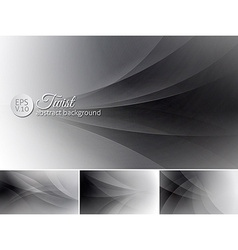 Twist abstract background vector
