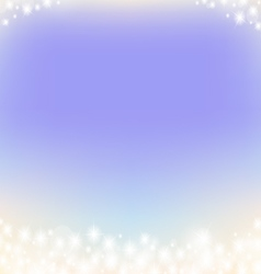 Purple dreamy fairy tale abstrack sparkling frame vector