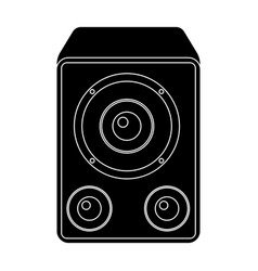 subwoofer for loud musicparty and parties single vector image
