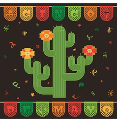 Mexican decoration vector