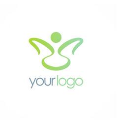 beauty spa logo vector image