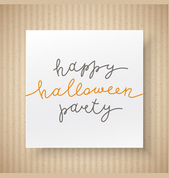 happy halloween party vector image vector image