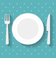 restaurant icon vector image