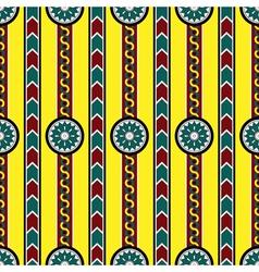 seamless pattern assiria vector image vector image