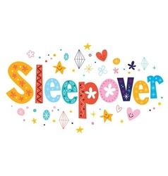 Sleepover vector