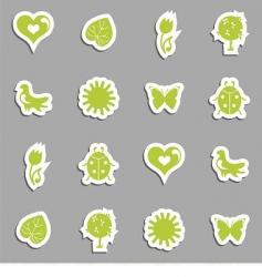 vector icon set vector image