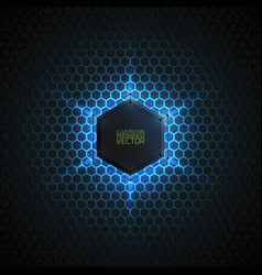 Abstract 3d dark background vector