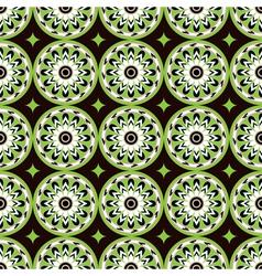 assiria green flowers vector image