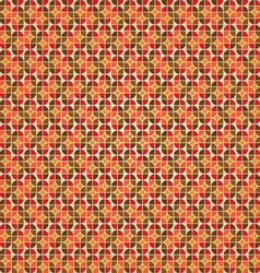 Warm retro background vector image
