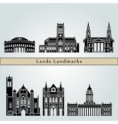 Leeds V2 Landmarks vector image