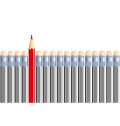 One another pencil in some other gray Be different vector image vector image