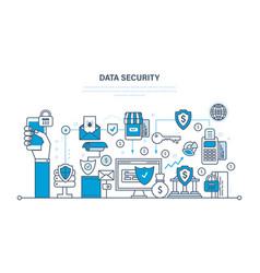 Security data integrity deposits guarantee vector