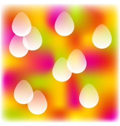 Easter colorful background vector