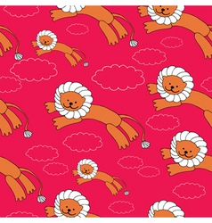 Lion pattern vector