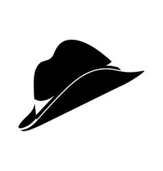 Classic vintage hat vector image vector image