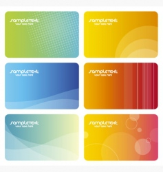 identity card vector image