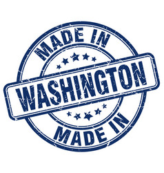 made in washington vector image vector image