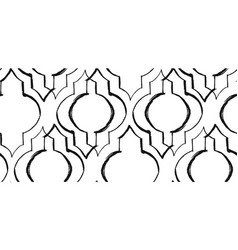 ramadan kareem textured seamless pattern vector image vector image