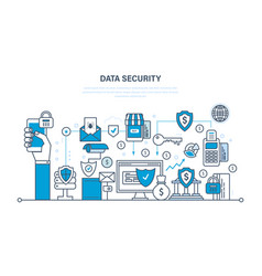 Security data integrity deposits guarantee vector