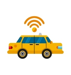 Taxi online design vector