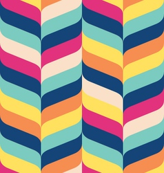 Modern ribbon chevron vector