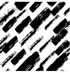 painted pattern irregular brush strokes vector image vector image
