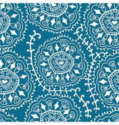 Retro background lace seamless pattern ornate vector image