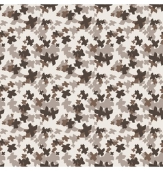 Seamless pattern of colorful hand-painted crosses vector image