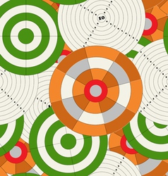 Target boards vector image